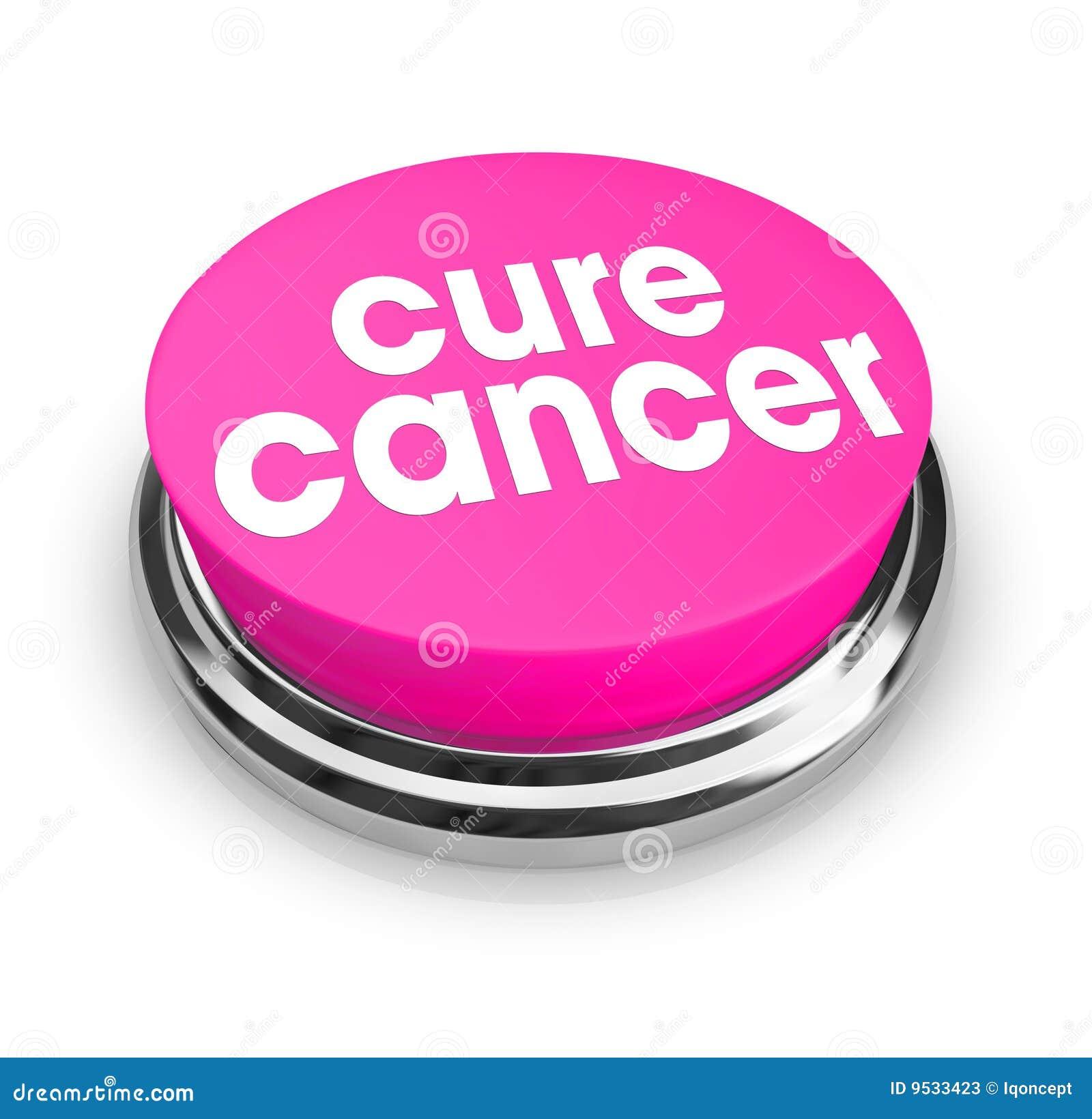 Cáncer de la curación - botón rosado