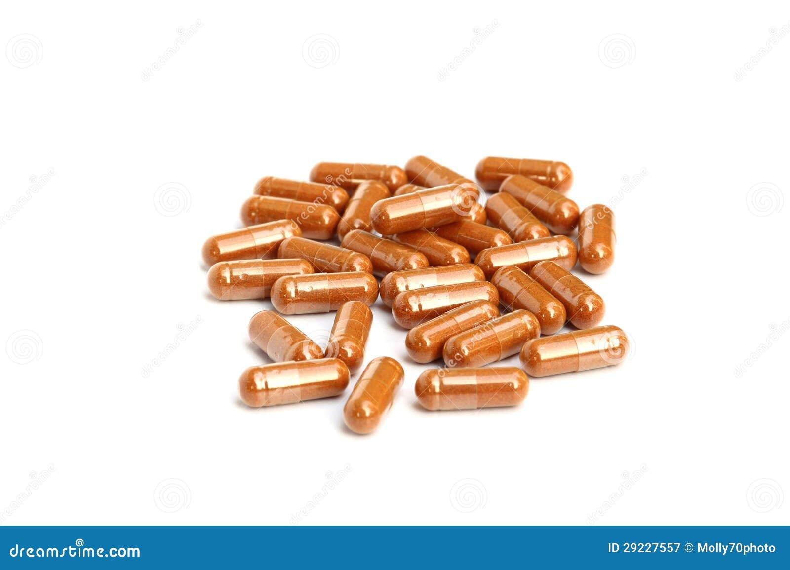 Download Cápsula erval da droga imagem de stock. Imagem de pills - 29227557