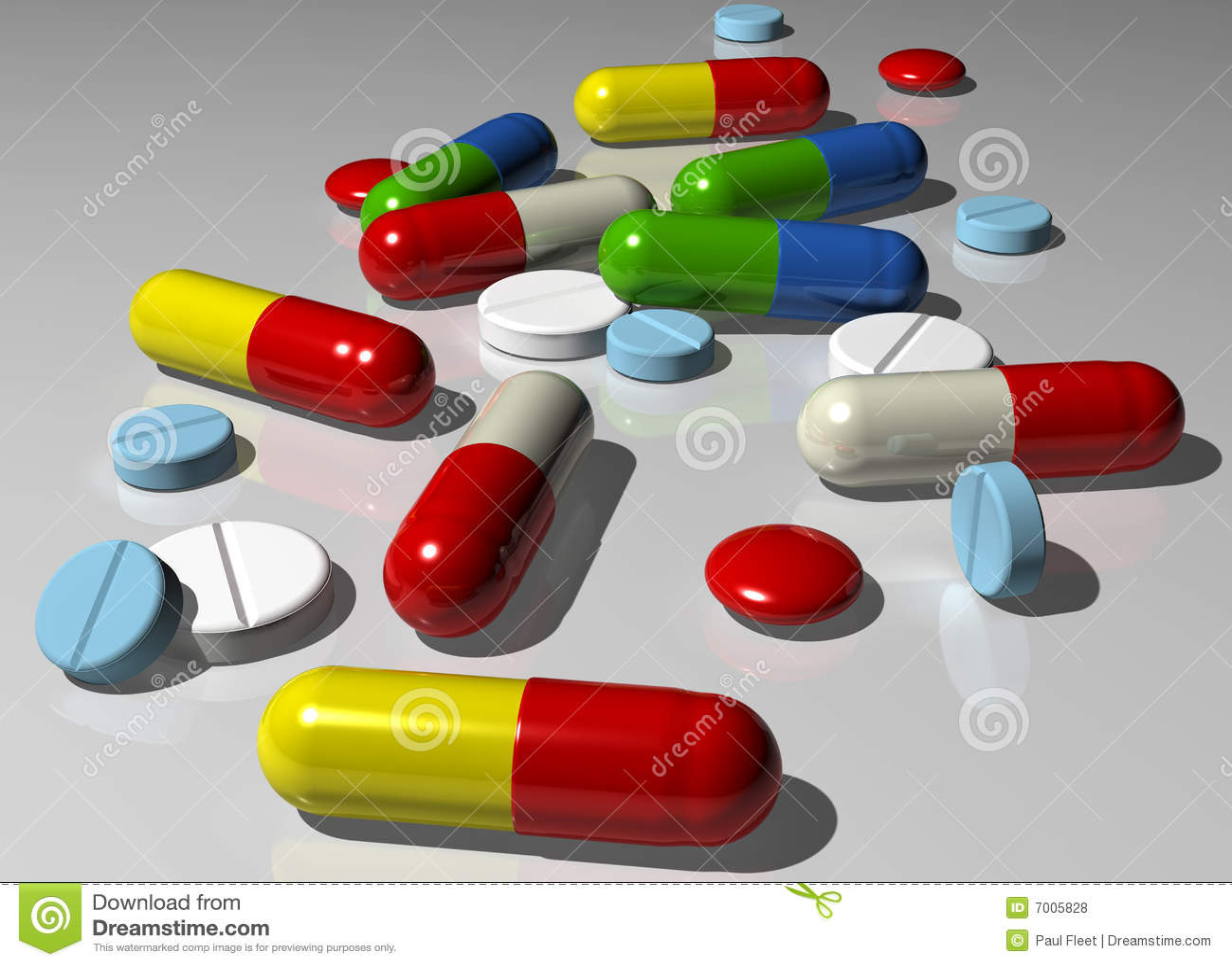 Cápsulas e comprimidos