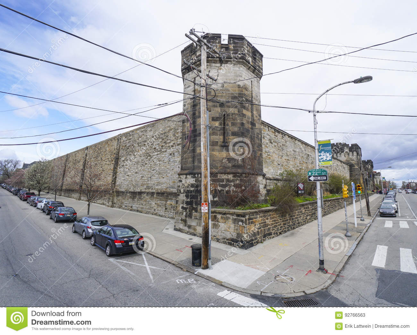 Cárcel del este del estado en Philadelphia - PHILADELPHIA - PENNSYLVANIA - 6 de abril de 2017