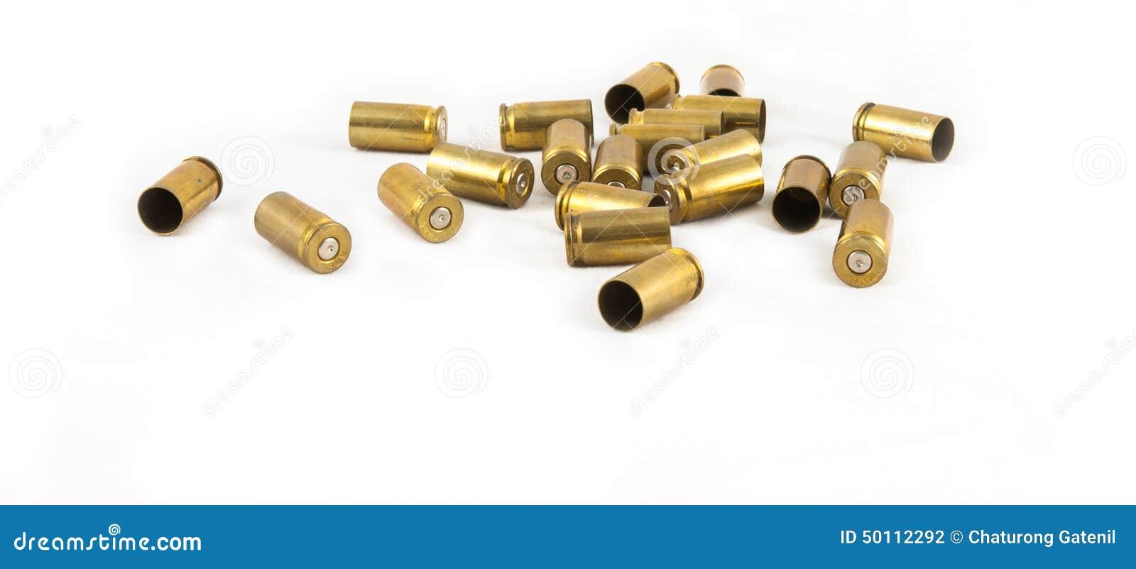 Cáscara de la munición 9 milímetros
