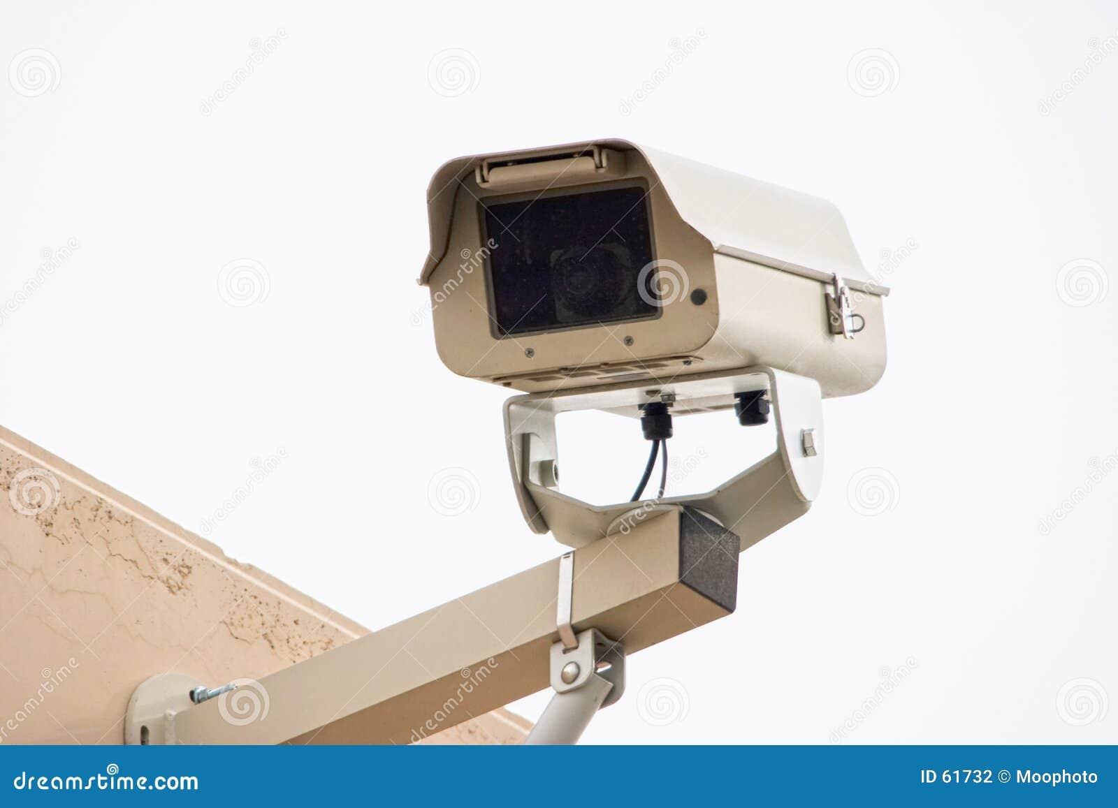 Câmara de segurança ao ar livre