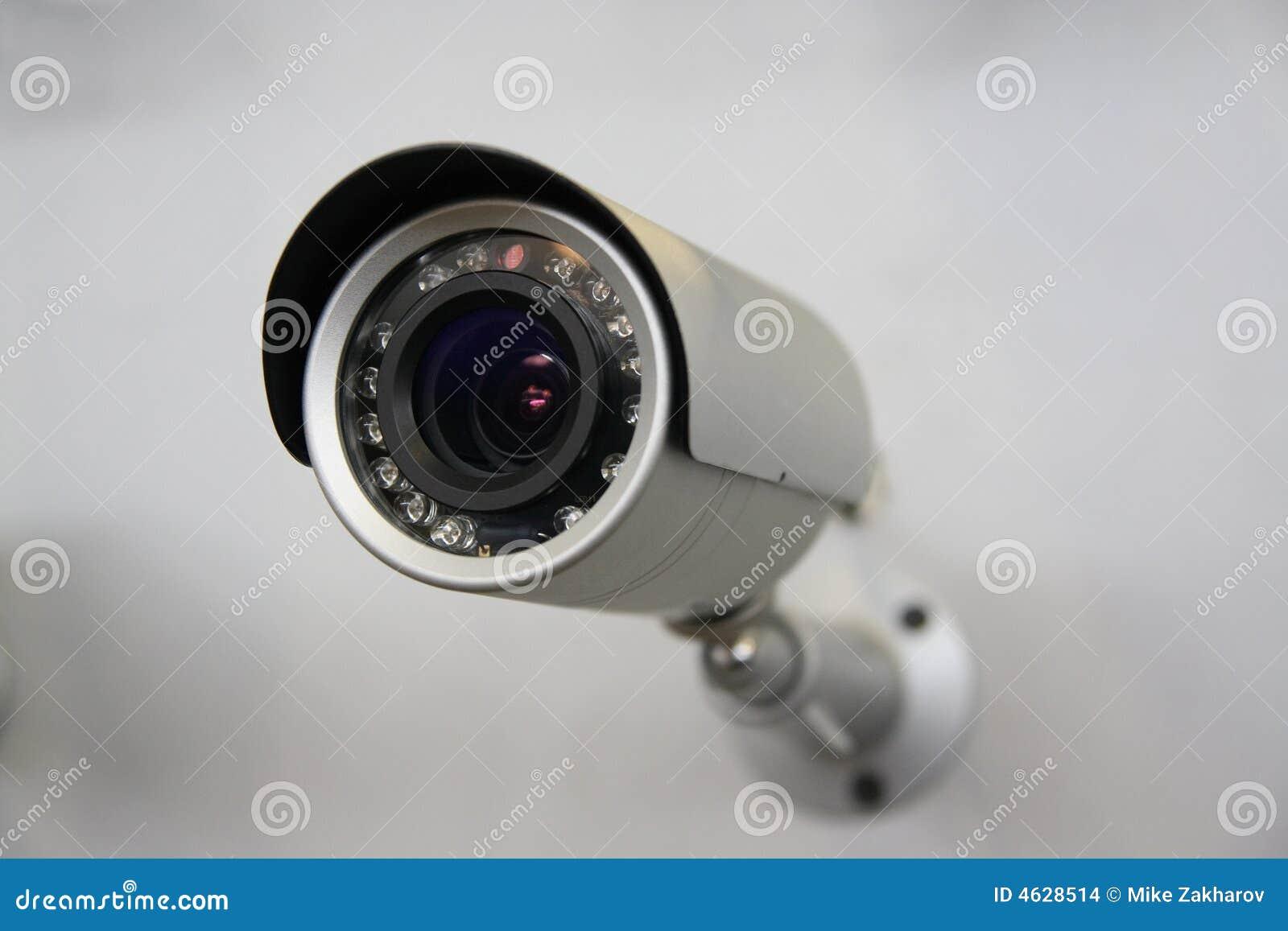 Câmara de segurança do CCTV.