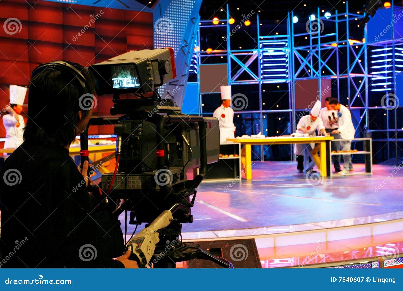 Câmara de vídeo digital profissional