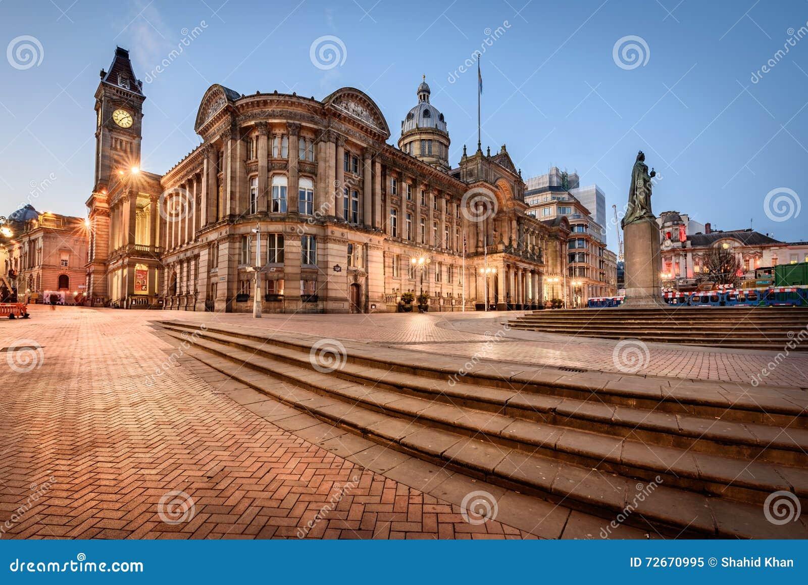 Câmara municipal de Birmingham, Inglaterra