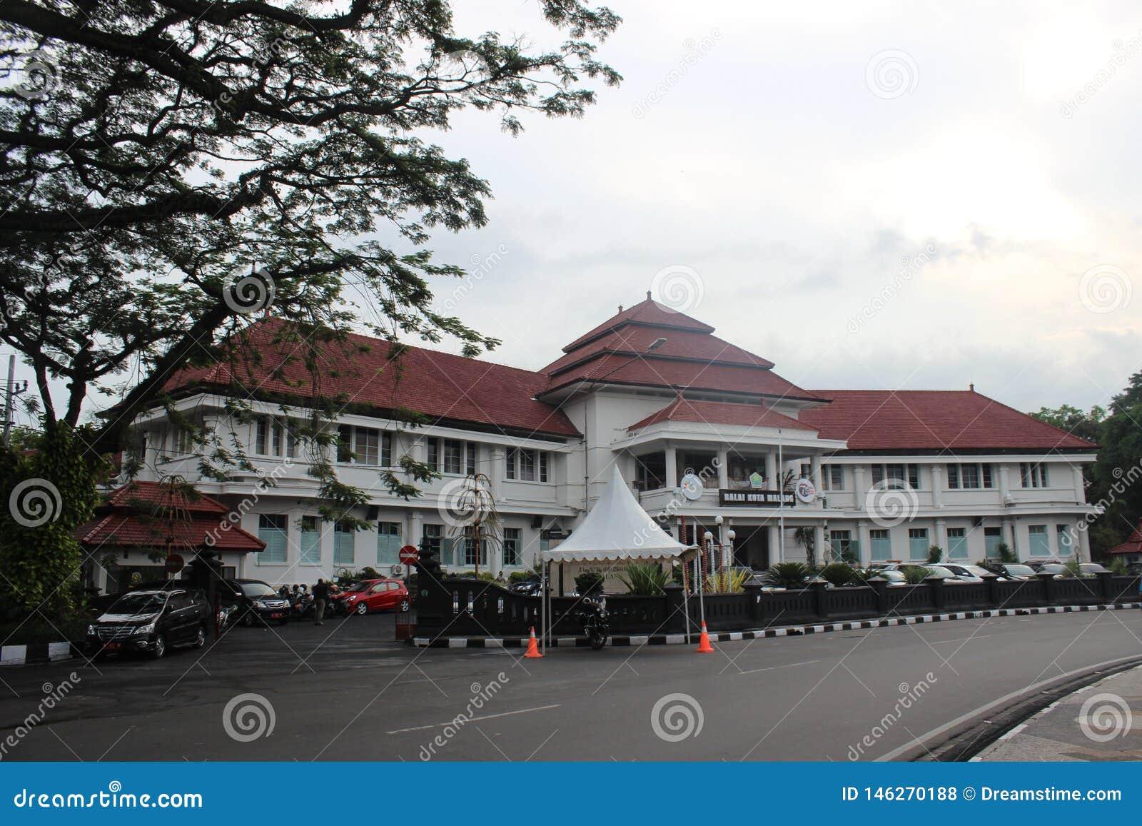 Câmara municipal de Malang