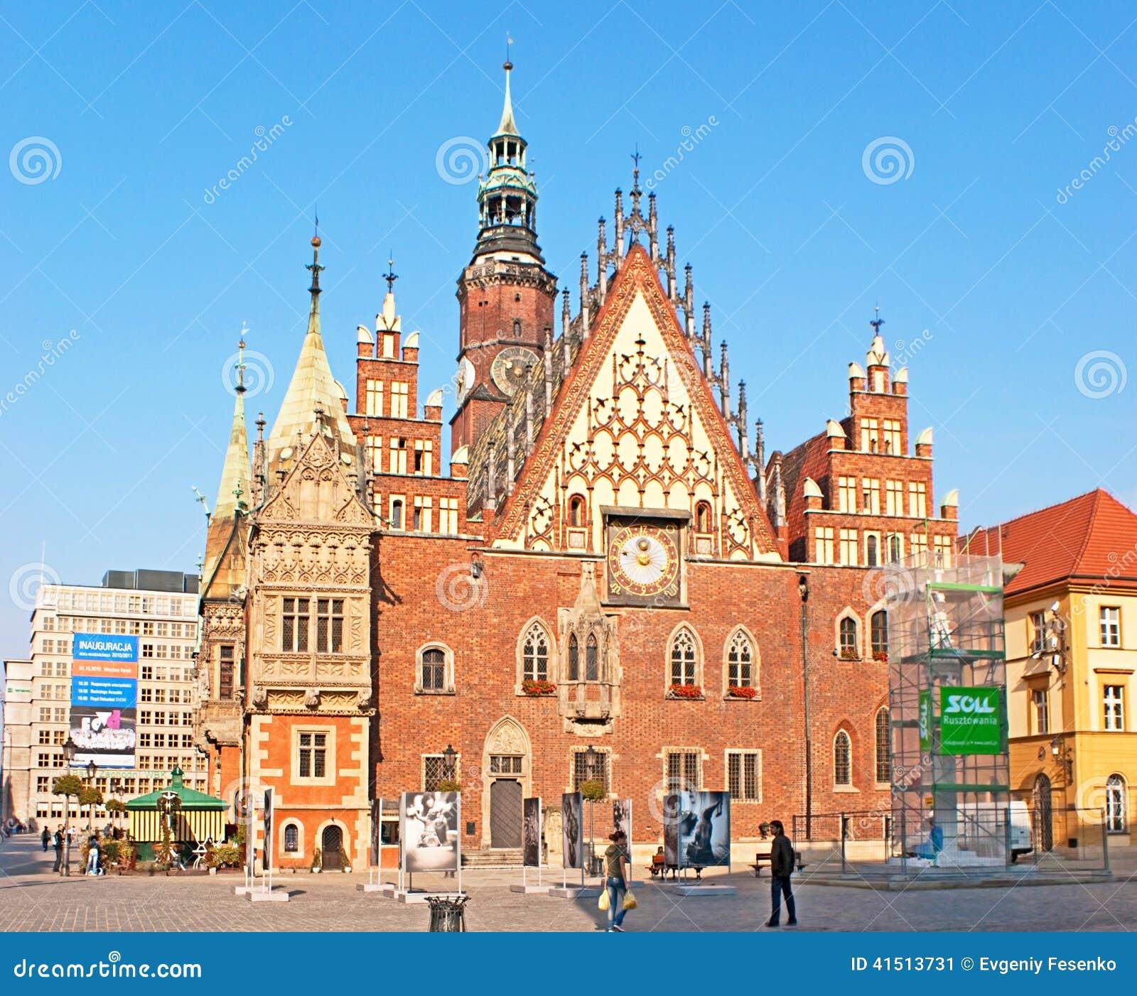 Câmara municipal de Wroclaw