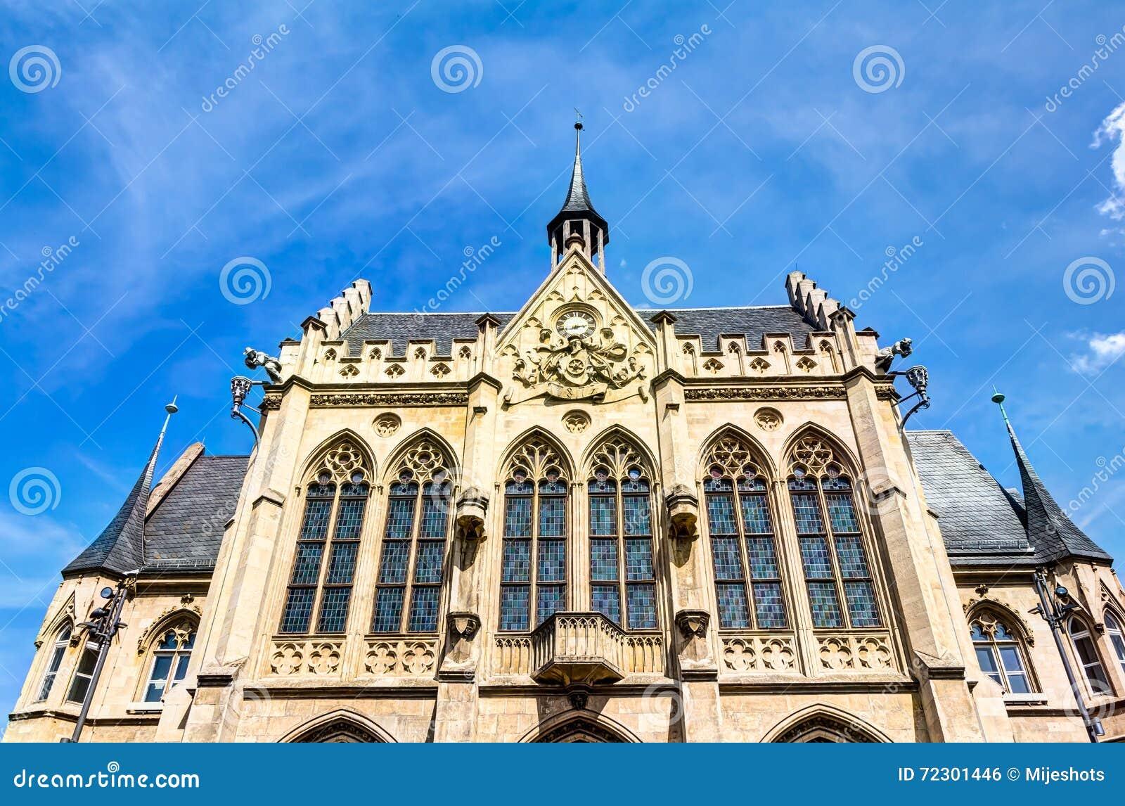 Câmara municipal em Erfurt