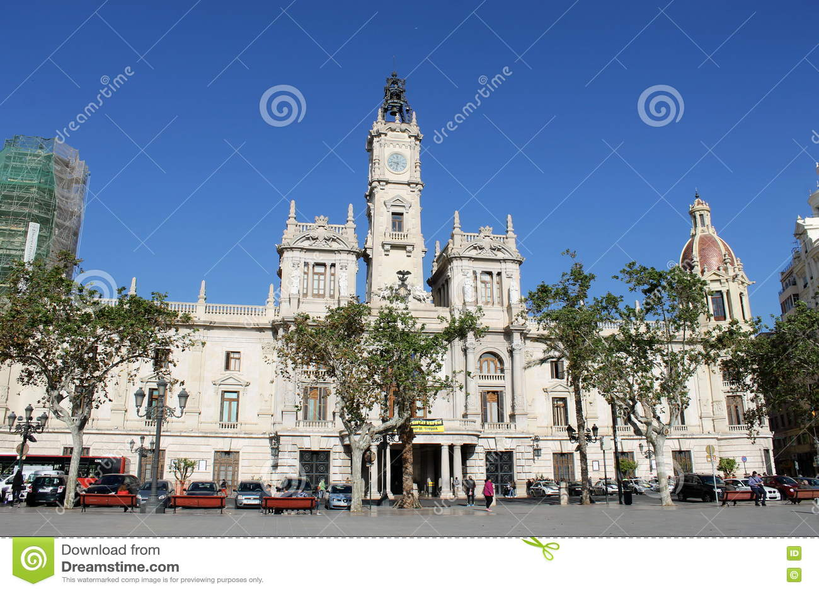 Câmara municipal em Valência, Espanha