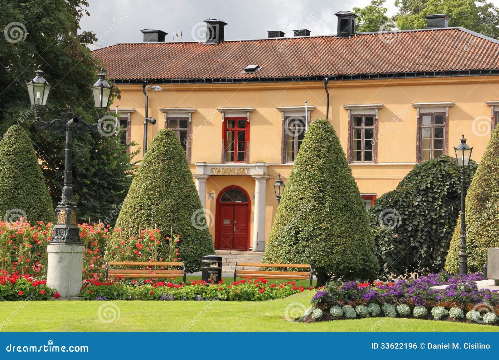 A câmara municipal velha. Norrkoping. Suécia