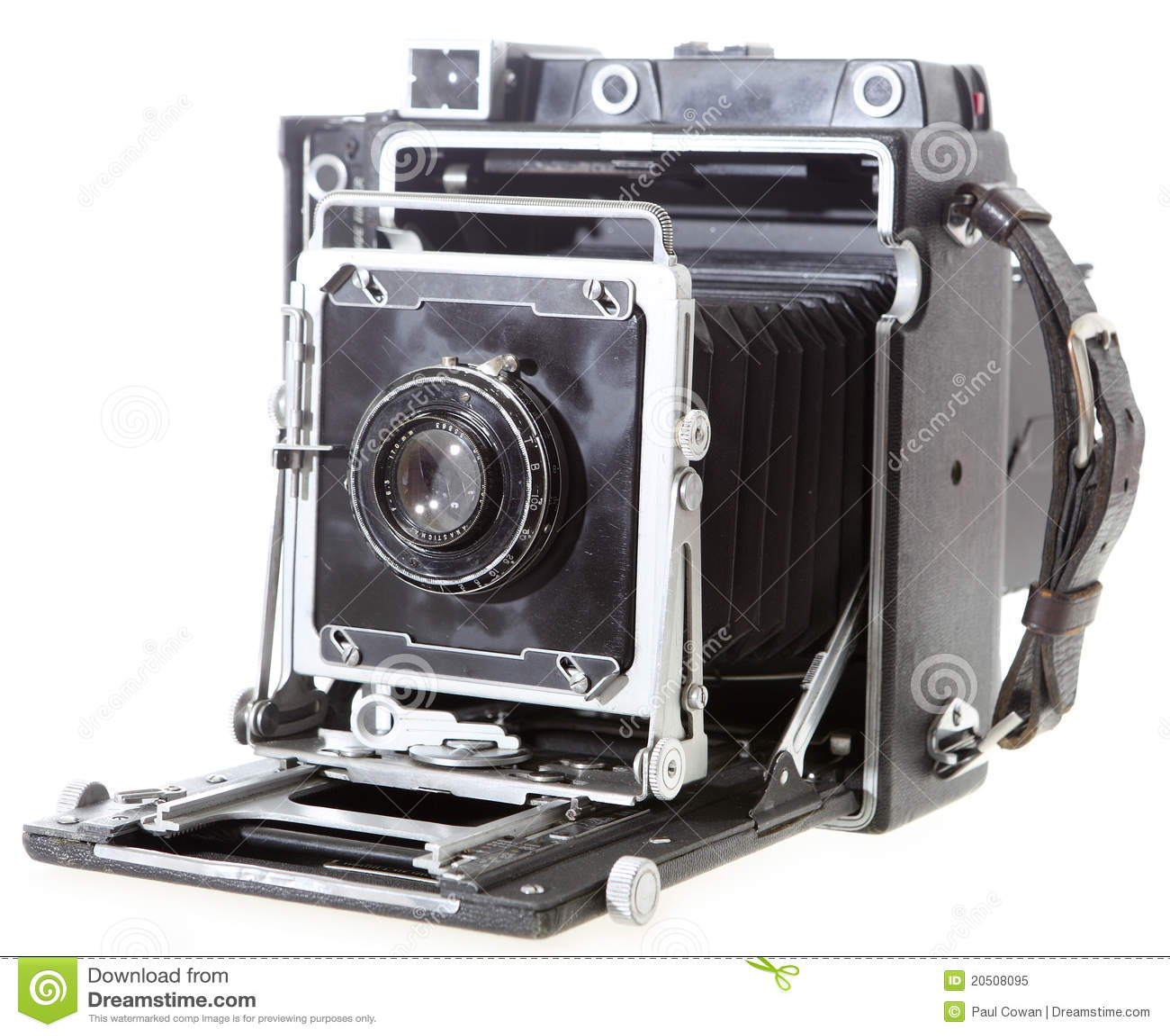 Câmera americana da imprensa