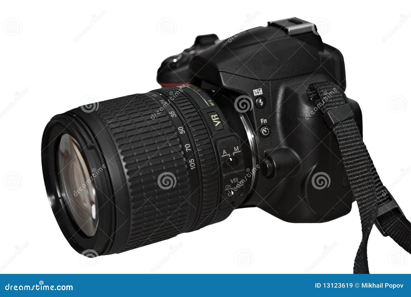 Câmera de reflexo da único-lente de Digitas