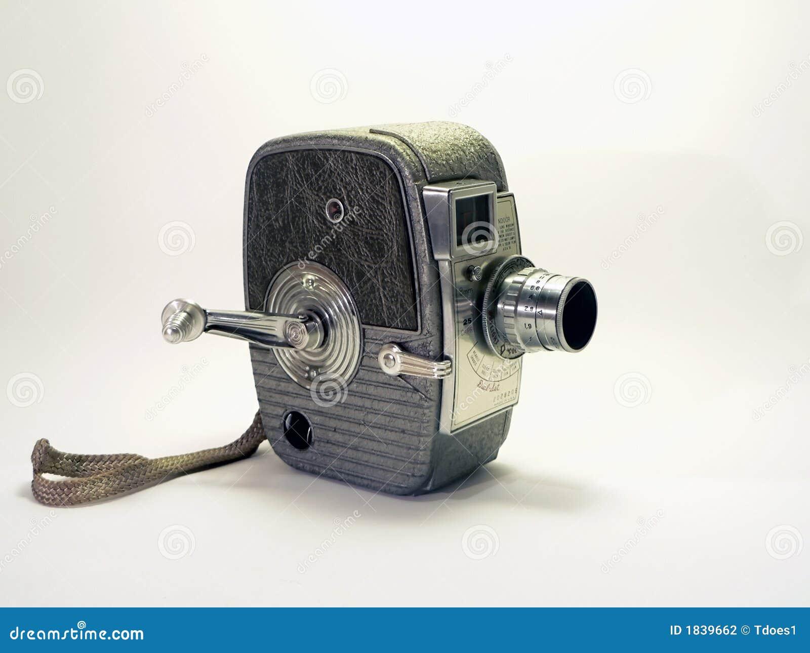 Câmera do vintage - câmara de vídeo 2 de 8mm