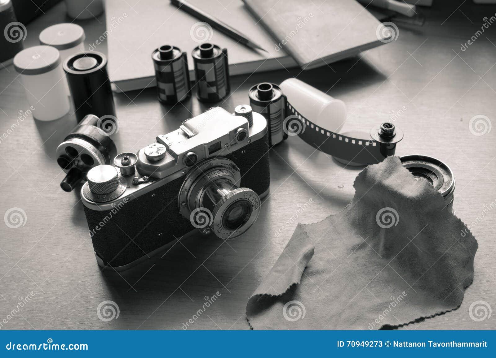 Câmera e filmes clássicos