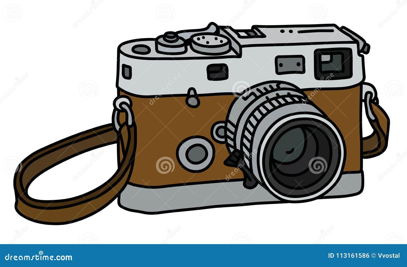 A Camera Fotografica Retro Ilustracao Do Vetor Ilustracao De