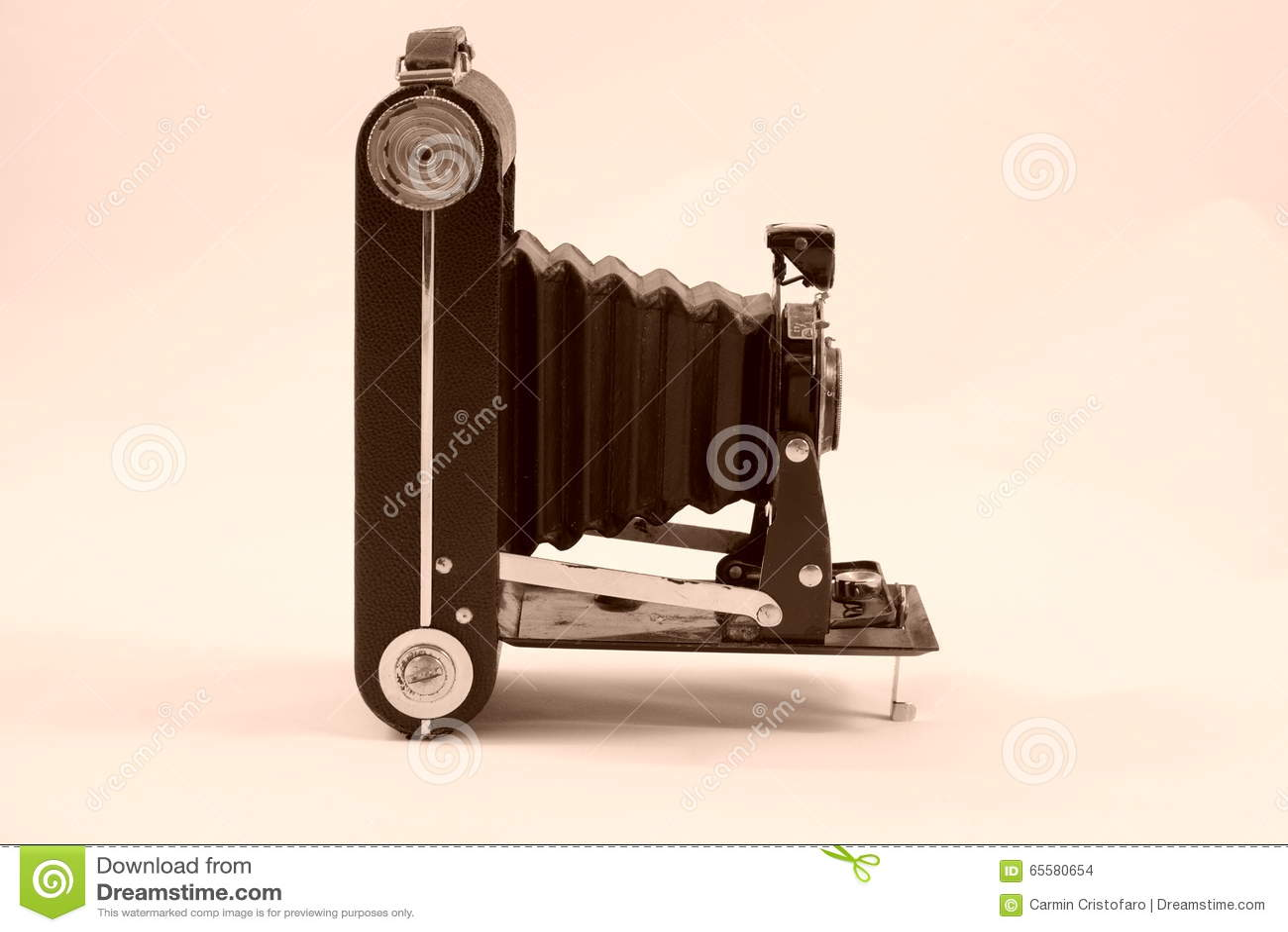 Câmera imóvel antiga