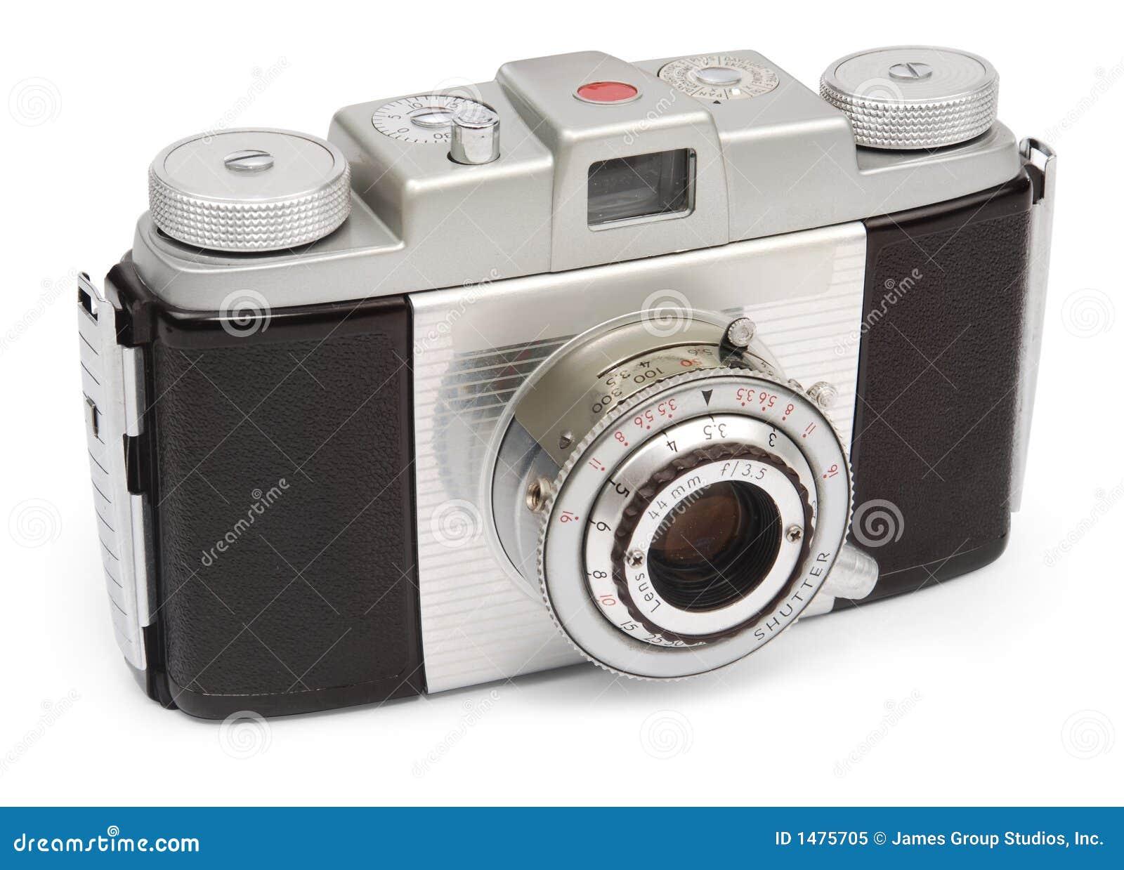 Câmera retro do viewfinder