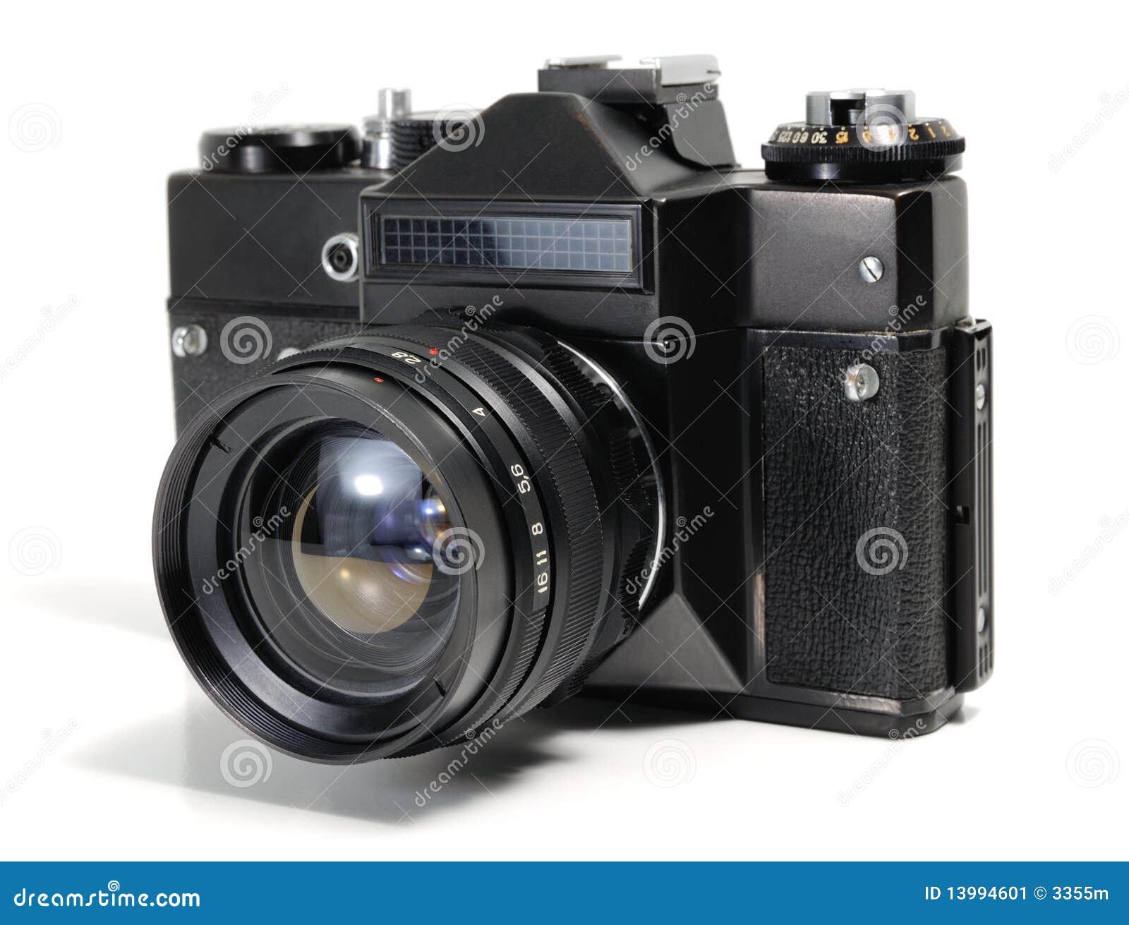 A câmera velha