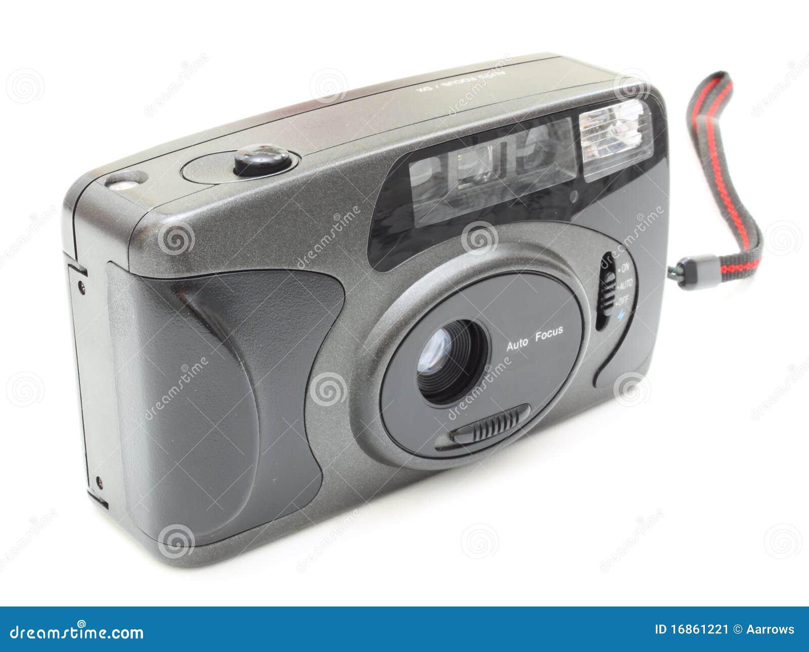 A câmera velha da película