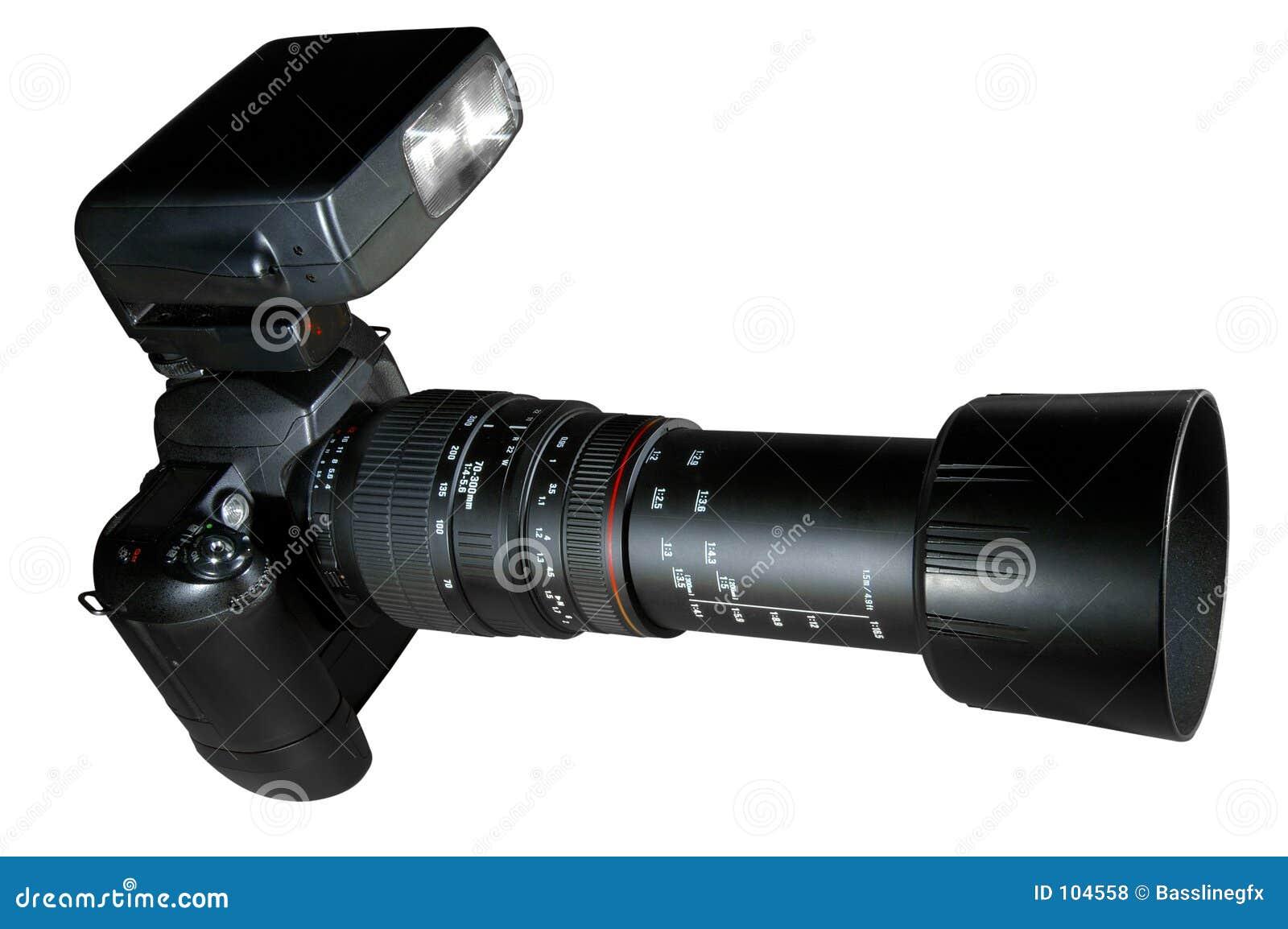 Câmera w/Paths do Telephoto