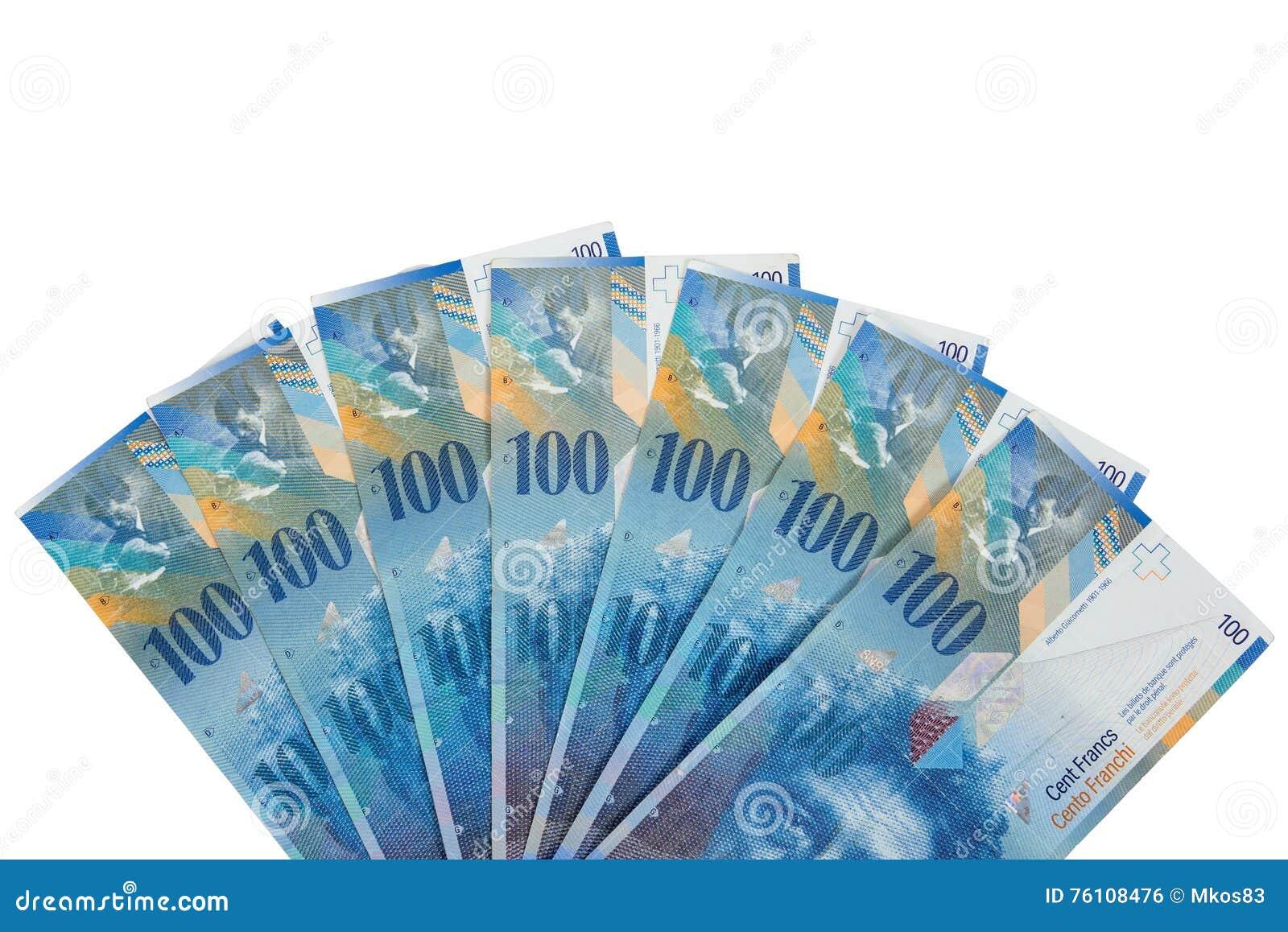 c dulas de 100 francos su os foto de stock imagem de fundo papel 76108476. Black Bedroom Furniture Sets. Home Design Ideas