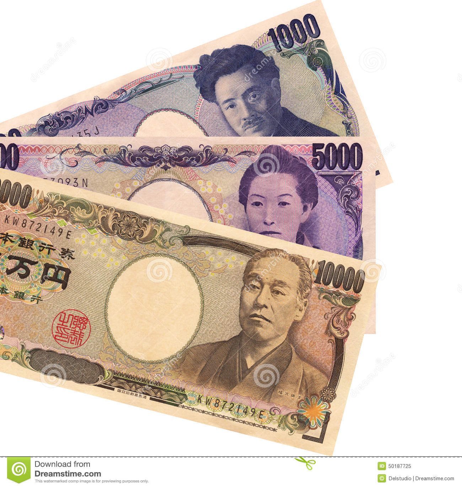 Cédulas do iene japonês