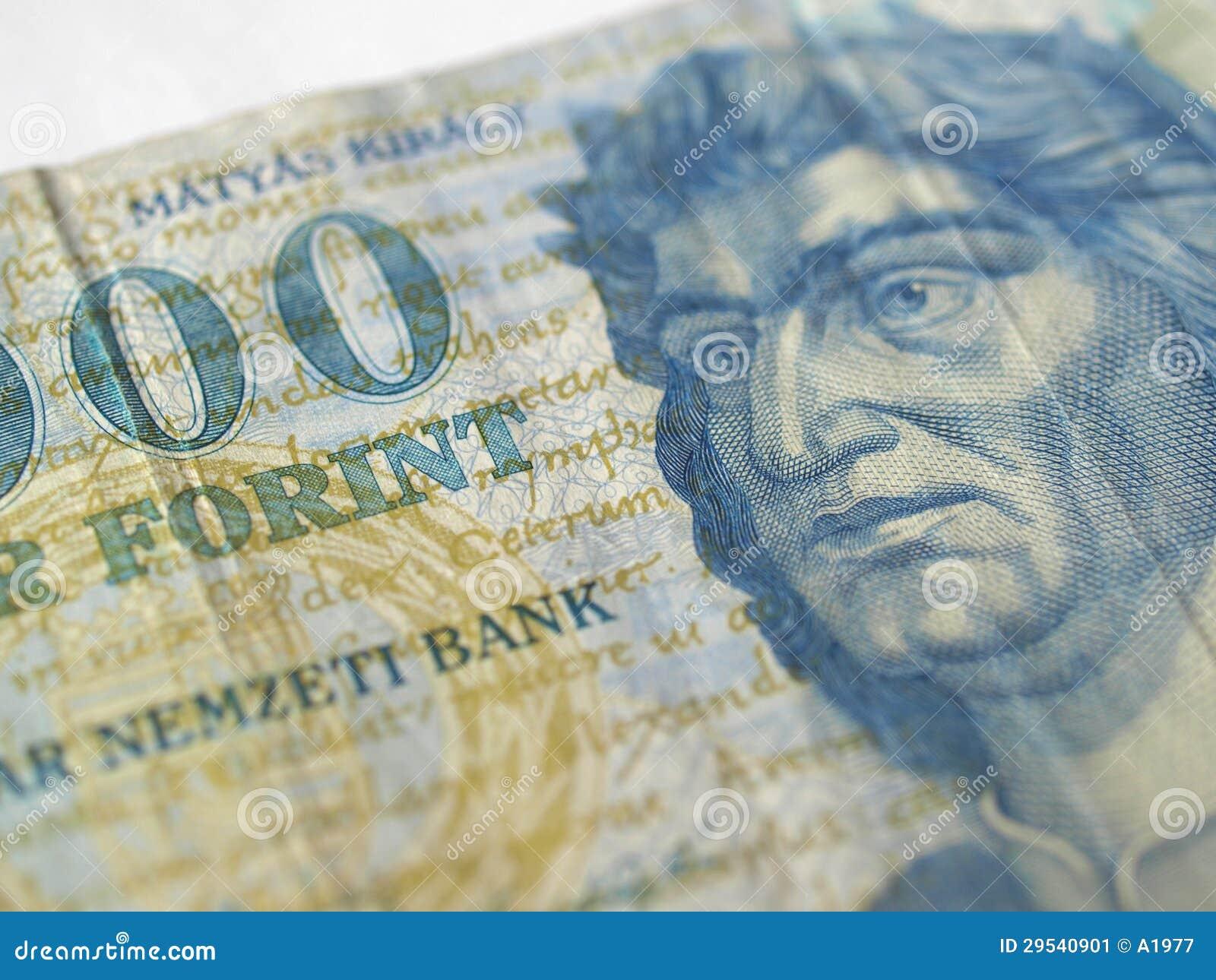 Cédulas húngaras da forint