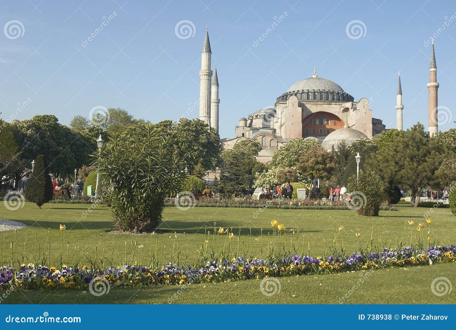 ? célèbre ch de saint Sophia dans Istambul