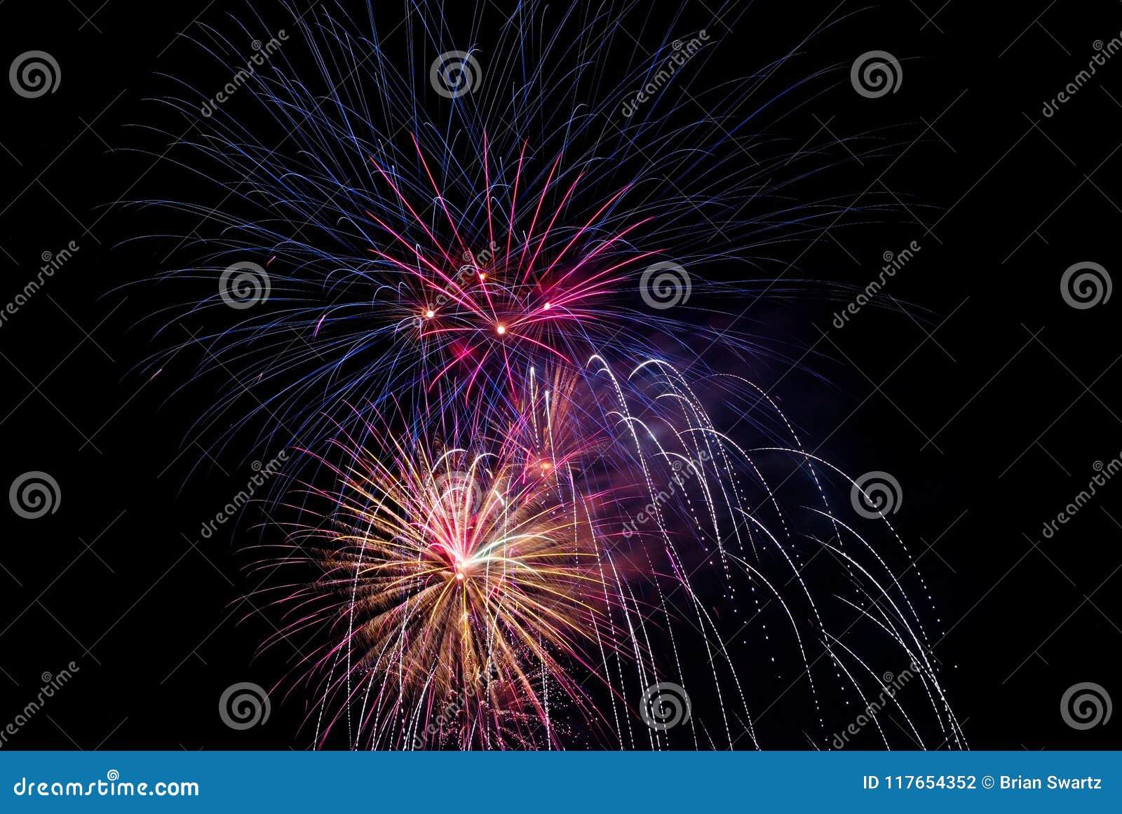 Célébration 657 de feux d artifice