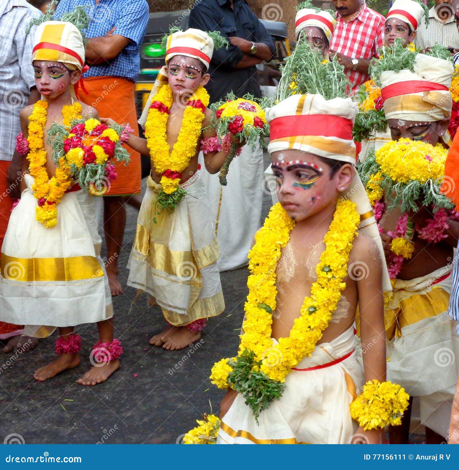 Célébration de jayanthi de Sri Krishna