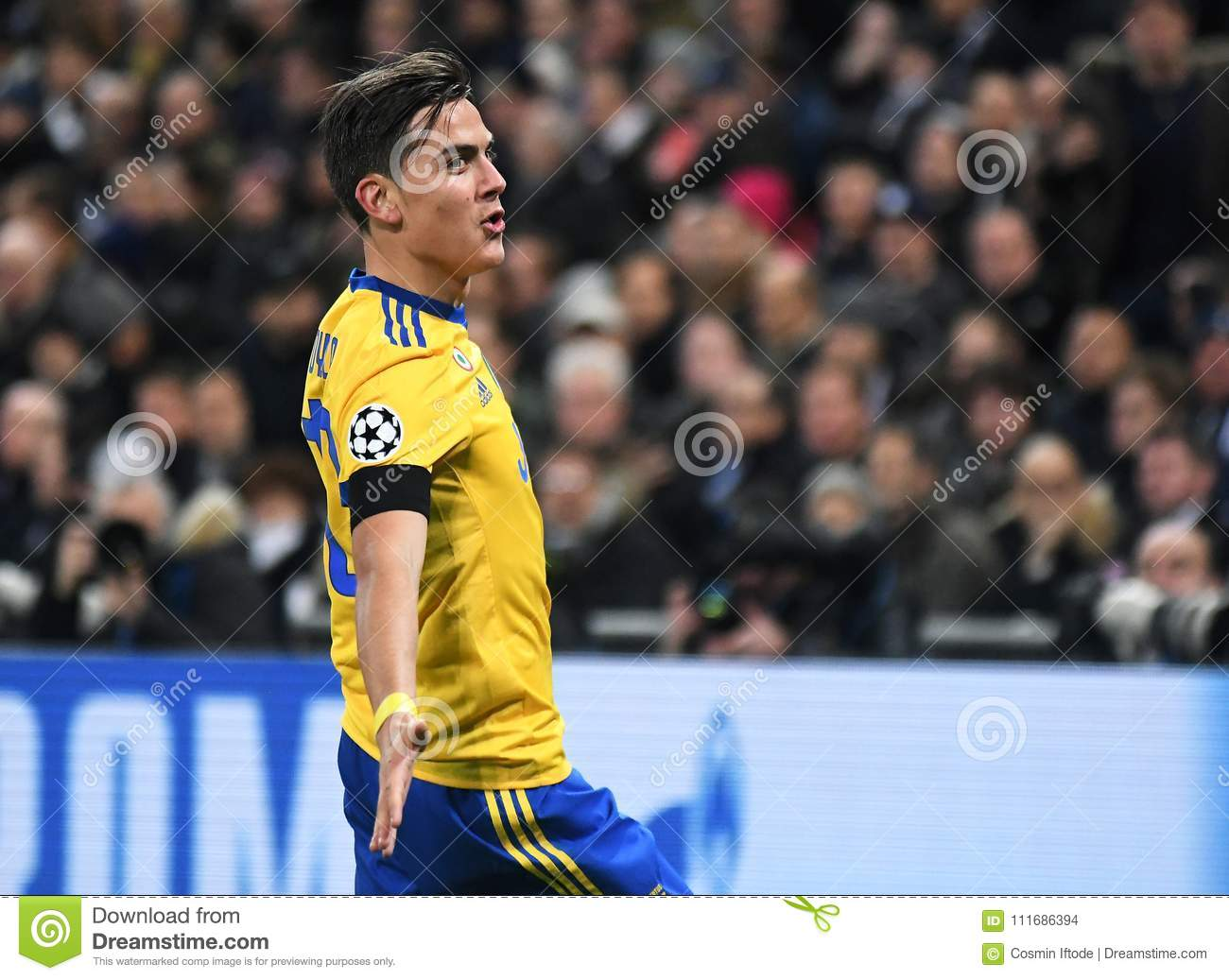Celebration De But De Paulo Dybala Image Stock Editorial Image Du