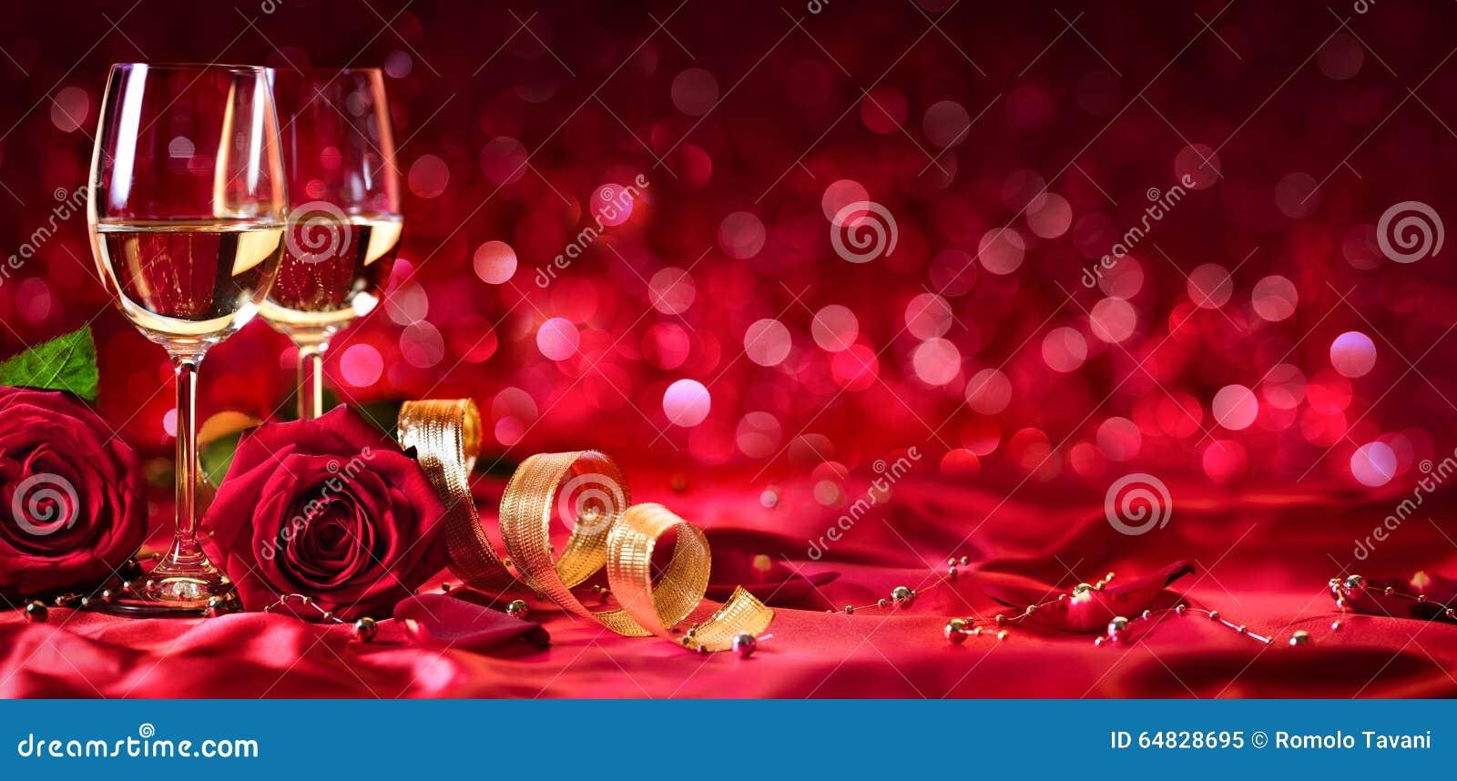 Célébration romantique de jour de valentines