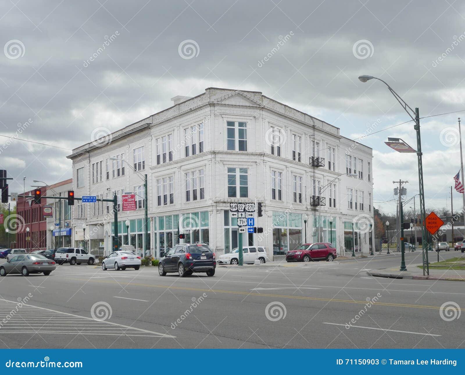 Céntrico, edificio histórico de Fort Smith, AR