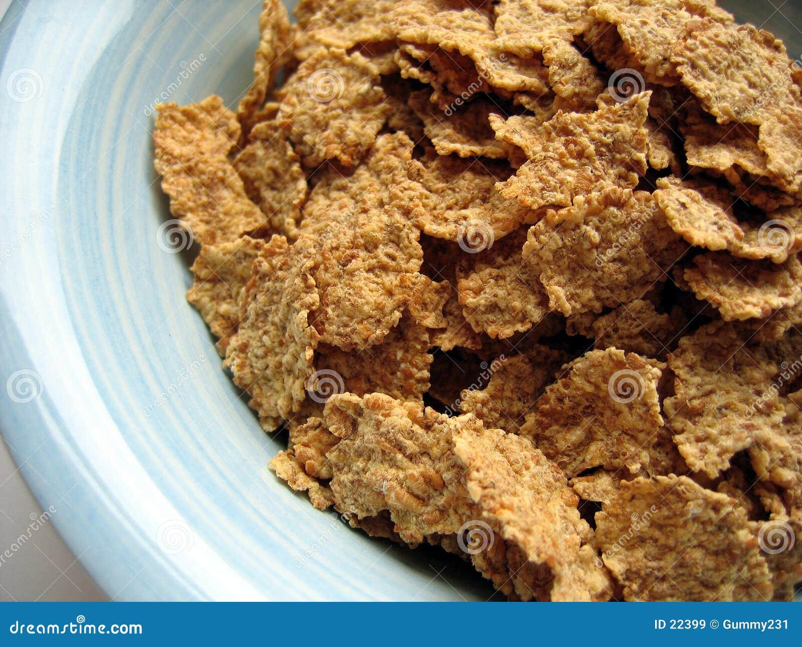 Céréale dans la cuvette