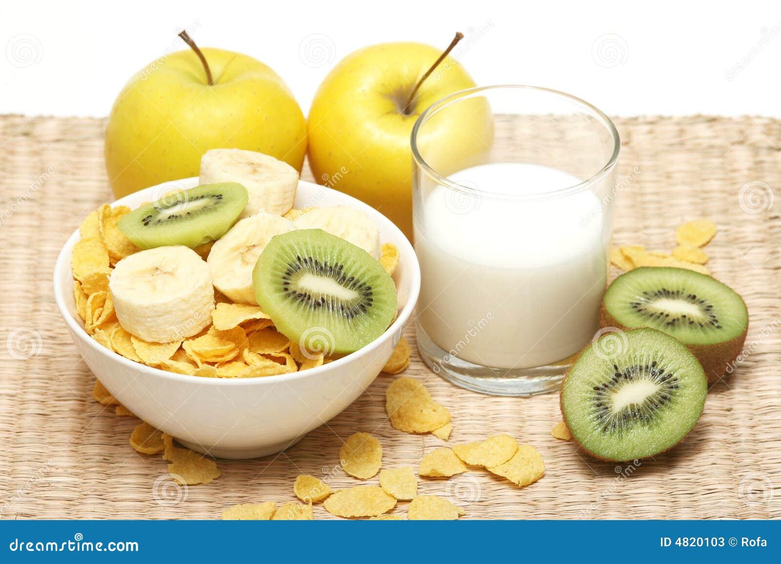Céréale et lait
