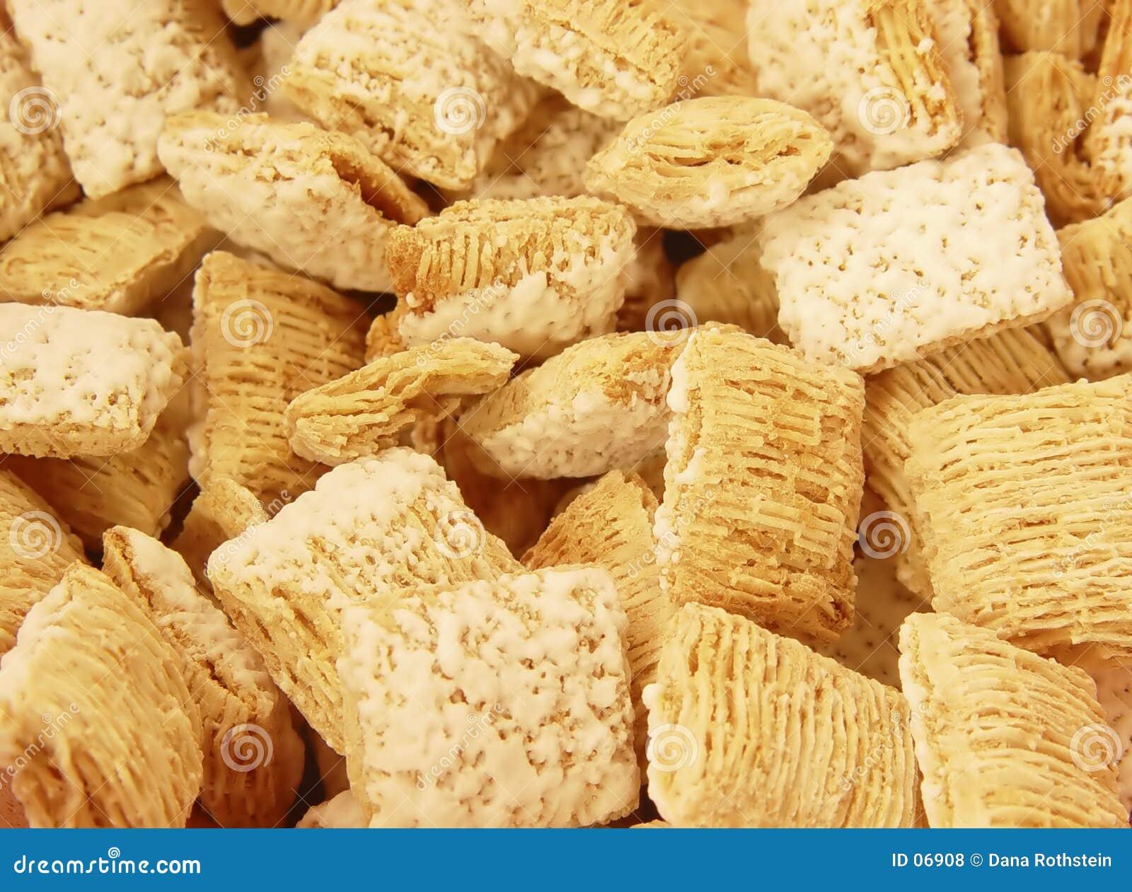 Céréale givrée de blé entier