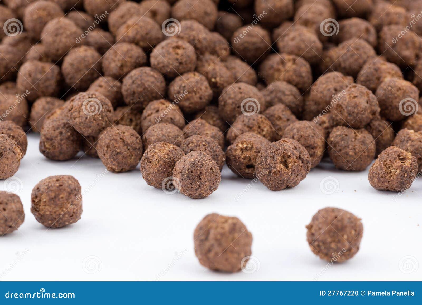 Céréales de chocolat