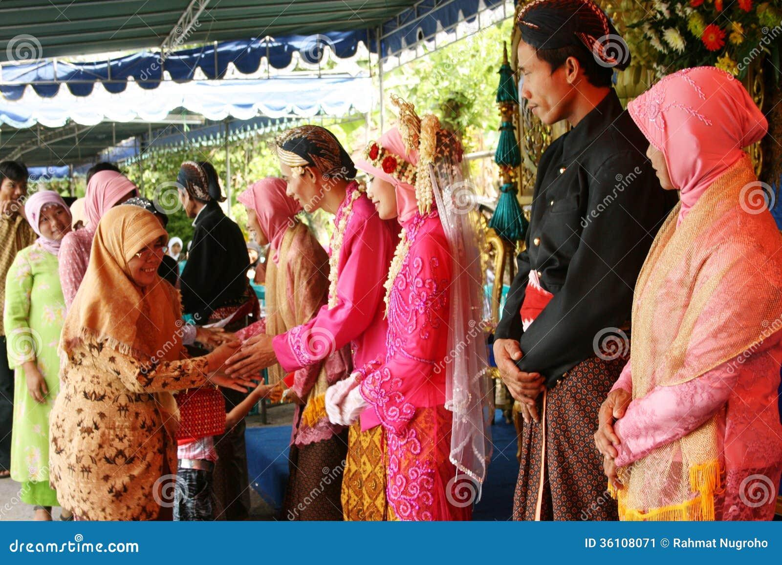 Cérémonie de mariage musulmane