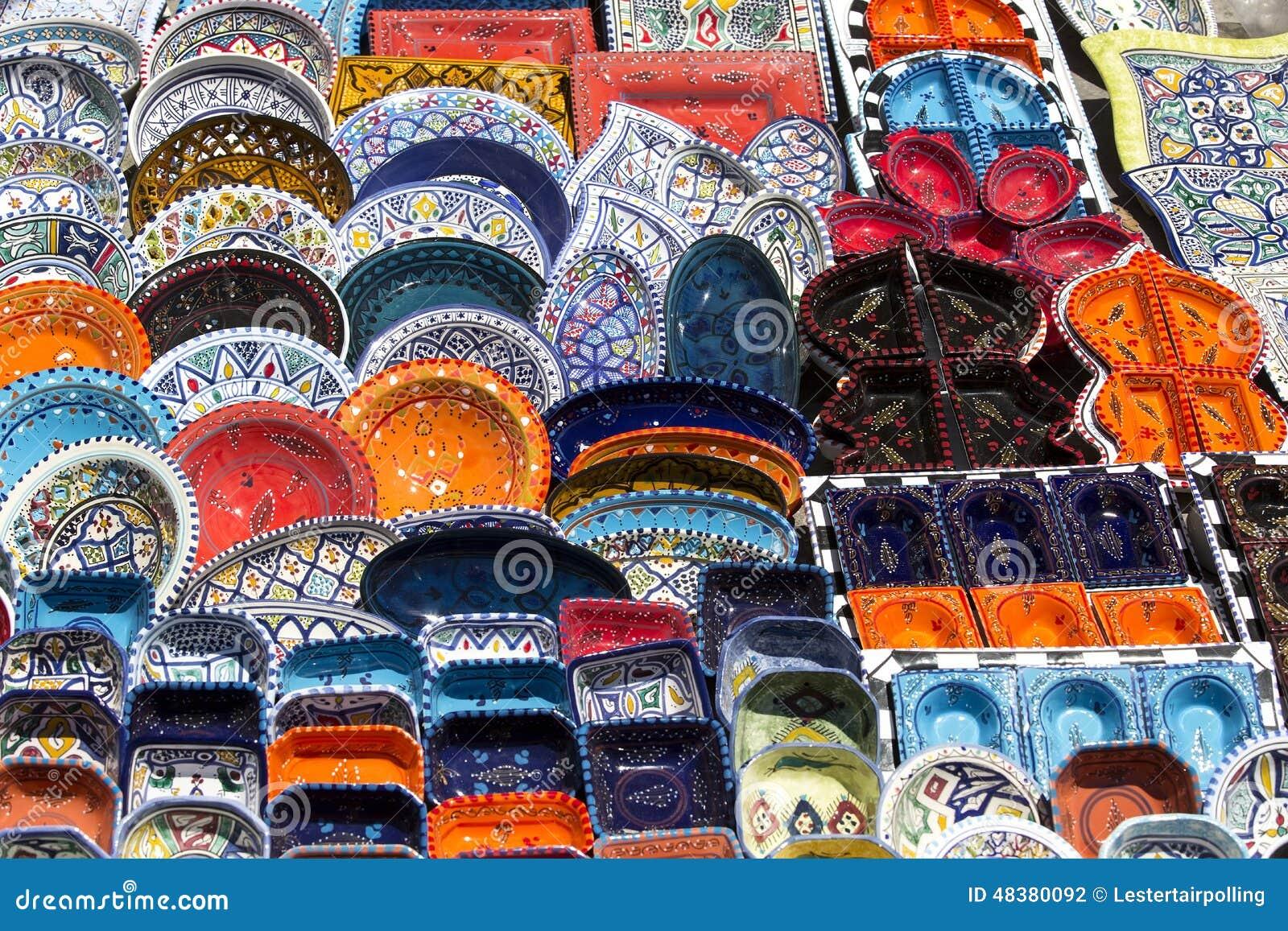 C ramique tunisienne traditionnelle photo stock image du - Cuisine tunisienne traditionnelle four ...