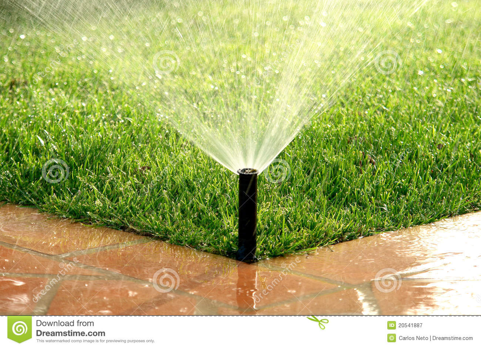 C sped de riego autom tico del sistema de irrigaci n del - Riego automatico cesped ...
