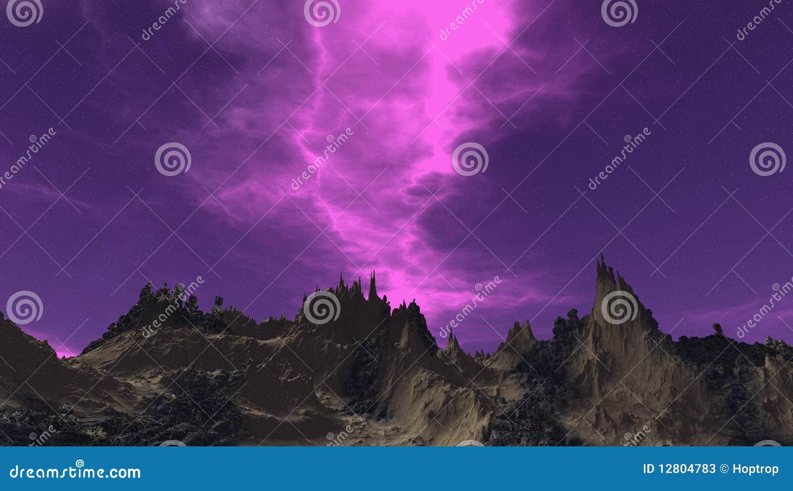 Céu abstrato