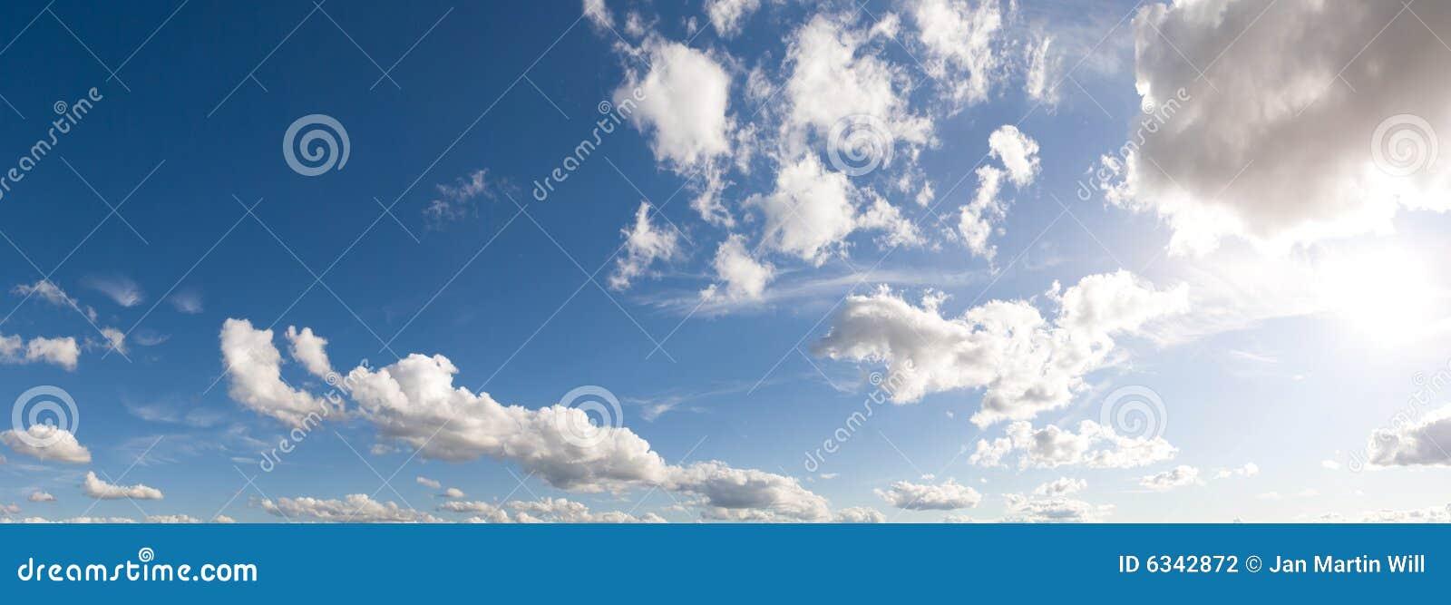 Céu panorâmico