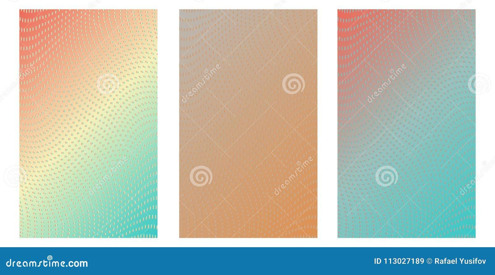 Círculo abstracto Logo Design, textura de semitono del modelo Vector el fondo futurista moderno para los carteles, tarjetas de vi