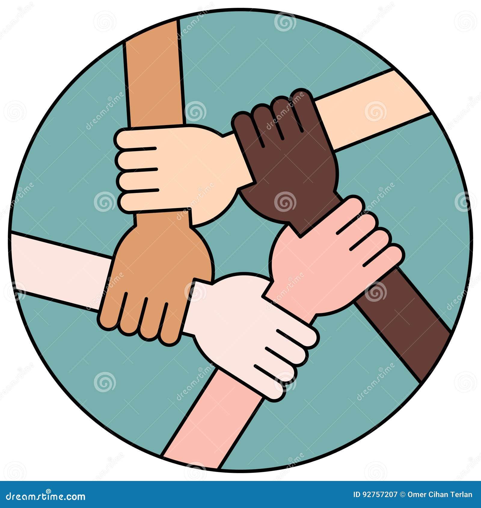 Círculo De La Amistad Y De La Solidaridad Para El Trabajo En Equipo ...