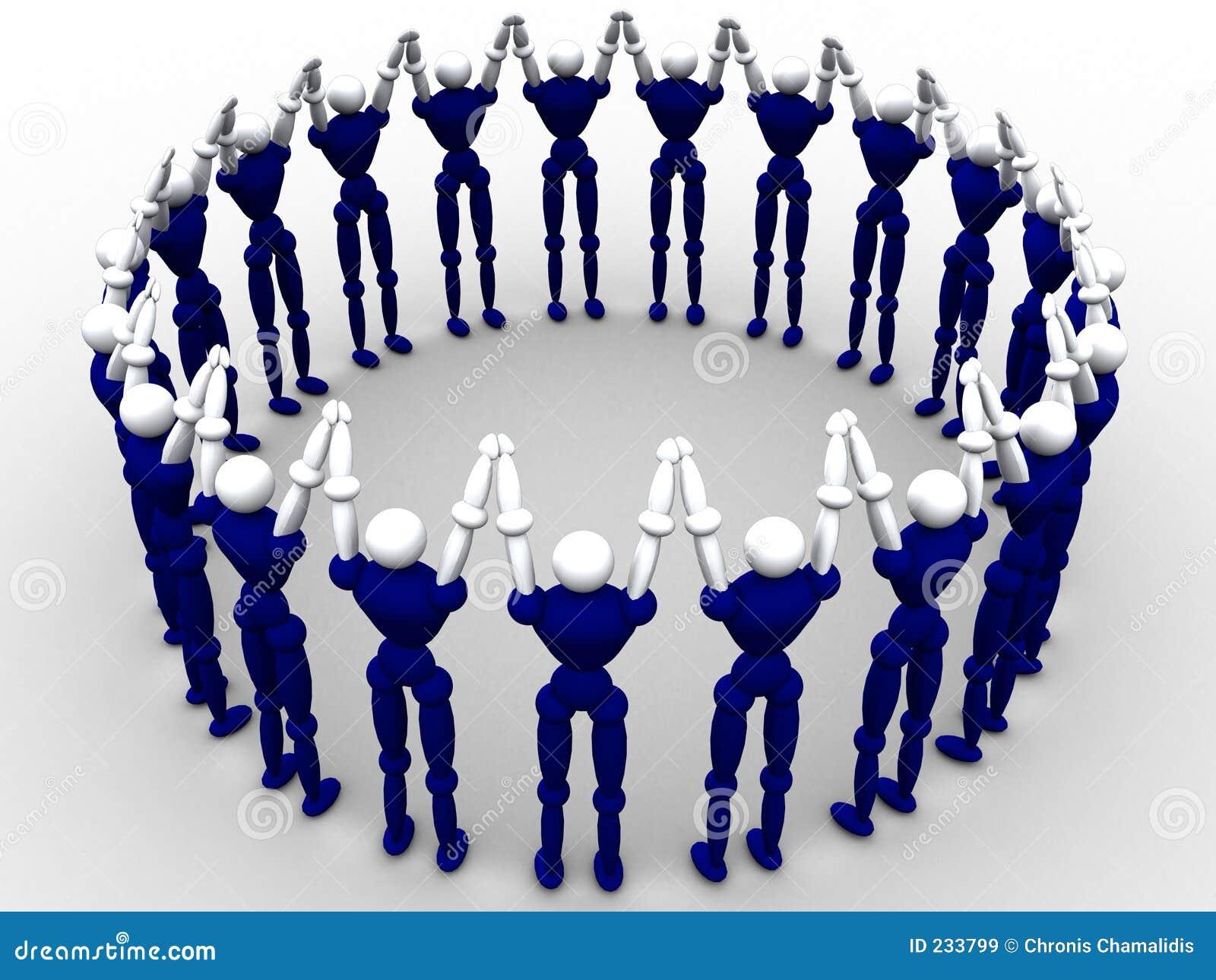 Círculo de la gente