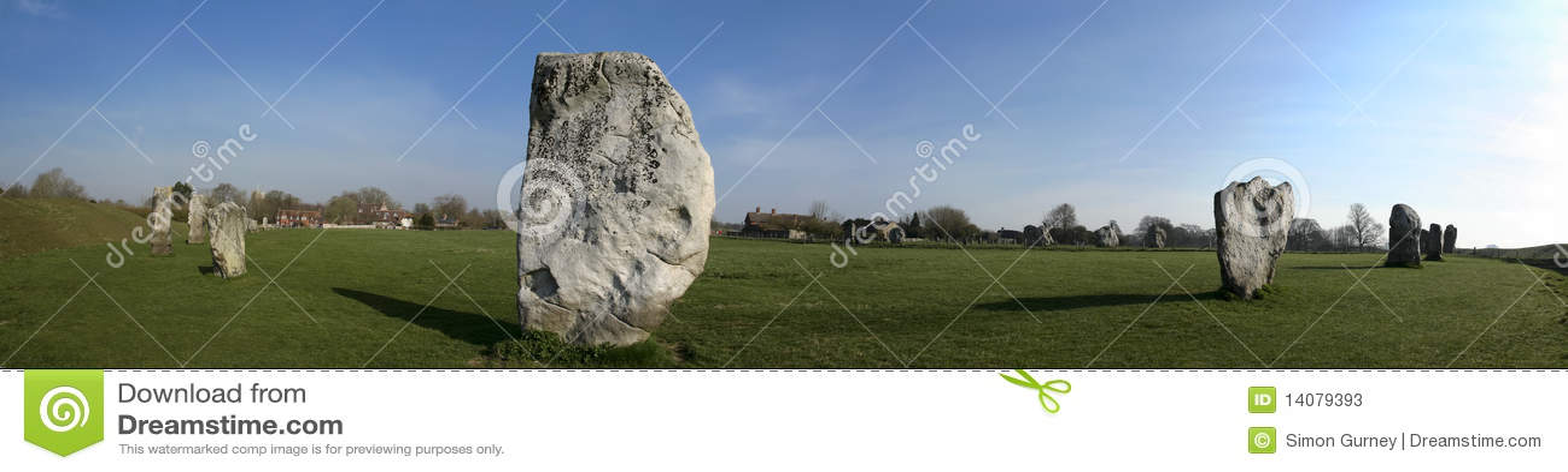 Círculo de piedra Wiltshire de Avebury
