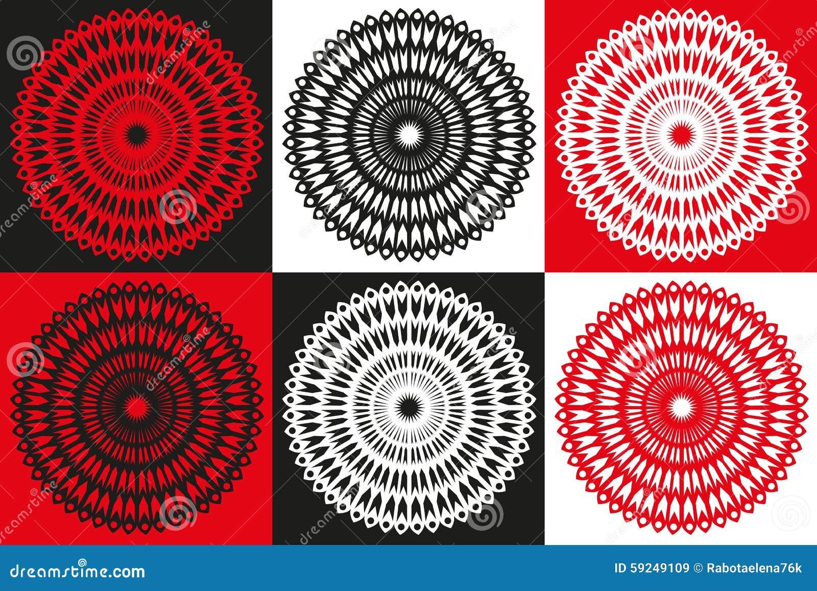 Círculo del vector abstracto