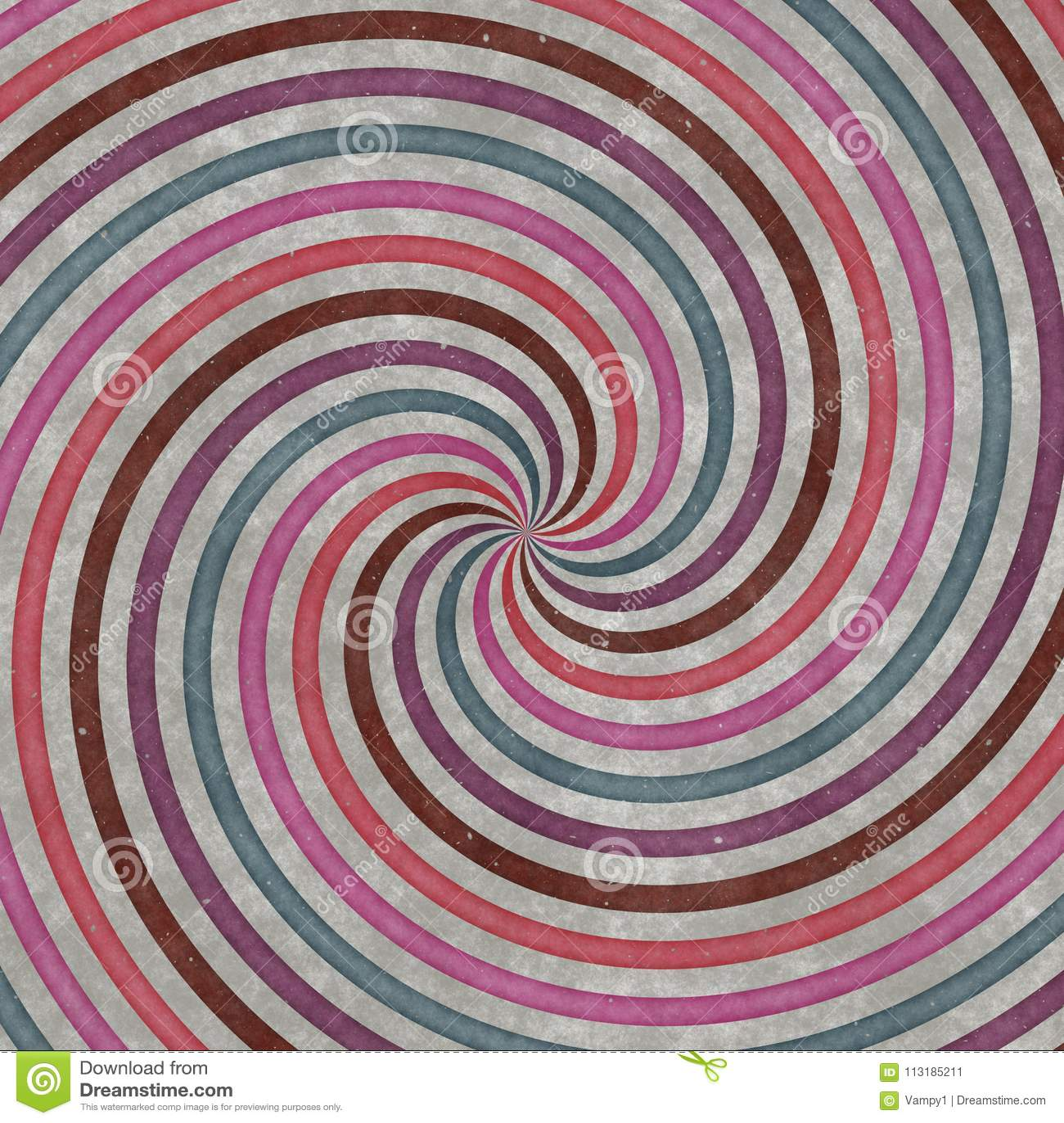 Círculos, curvas y espirales Vórtice-formados, diseño gráfico Textura espiral