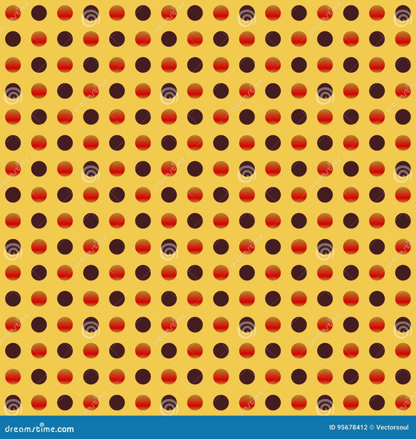 Círculos repetibles, modelo de puntos Textura colorida/multicolora