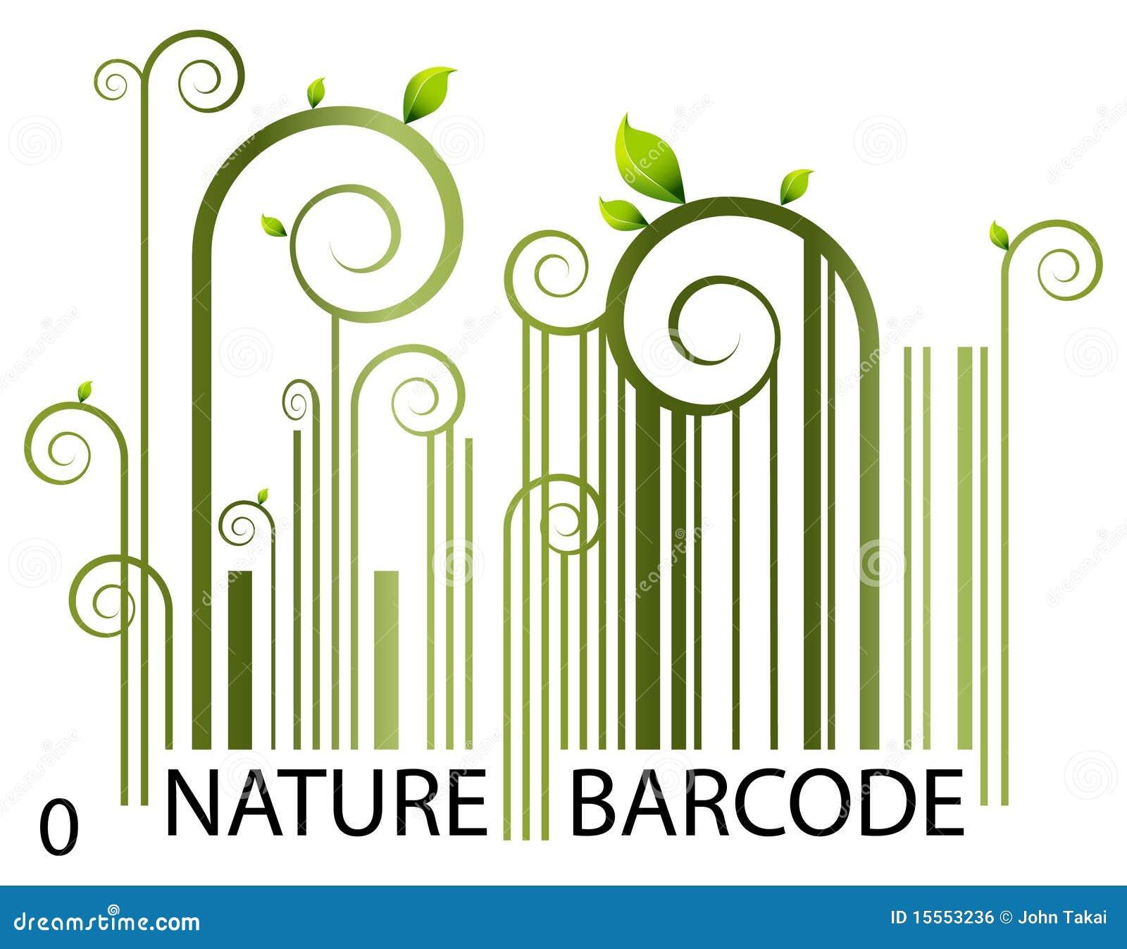 Código de barras da natureza